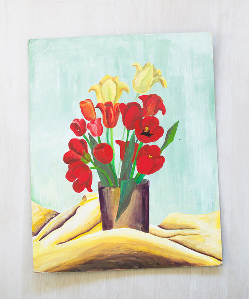 Original Tulip Painting