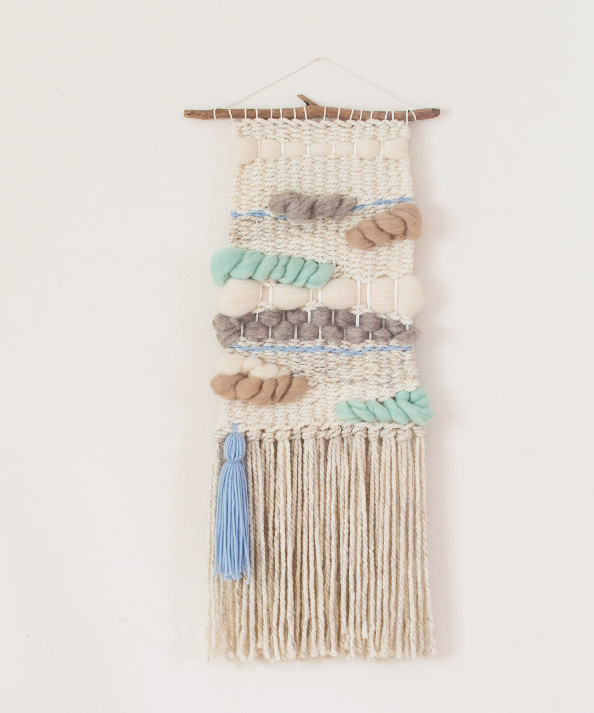 Blue Clouds Wall Hanging