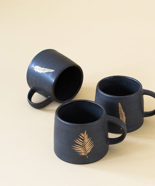 Golden Fern Mug