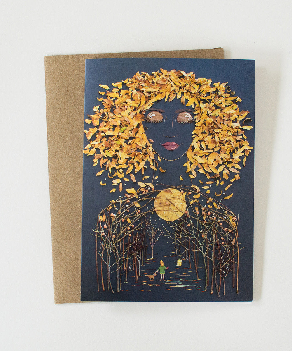 """Trust Your Journey"" Greeting Card - Sister Golden"