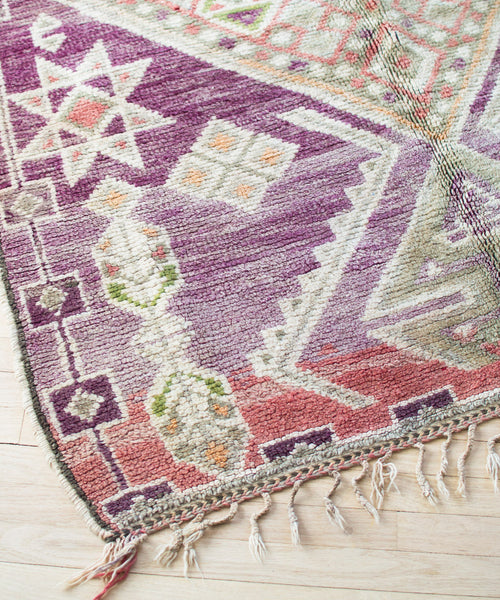 Moroccan Rug Pillow XI