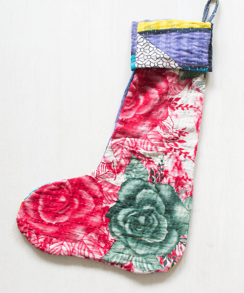 Kantha Stocking XVIII - Sister Golden