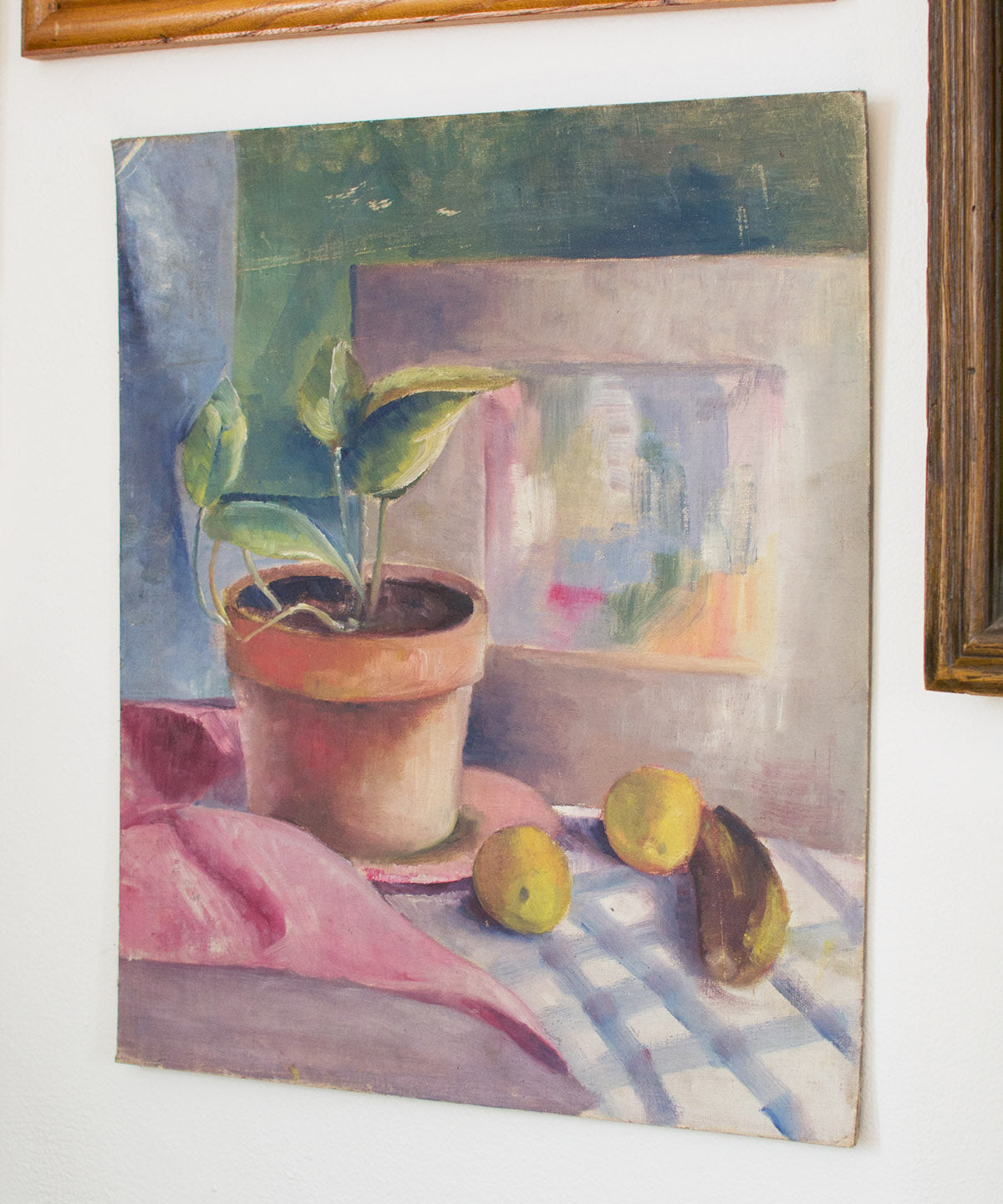 Original Still Life Painting - Sister Golden