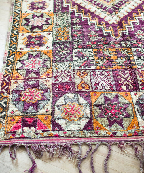 Moroccan Rug Pillow V