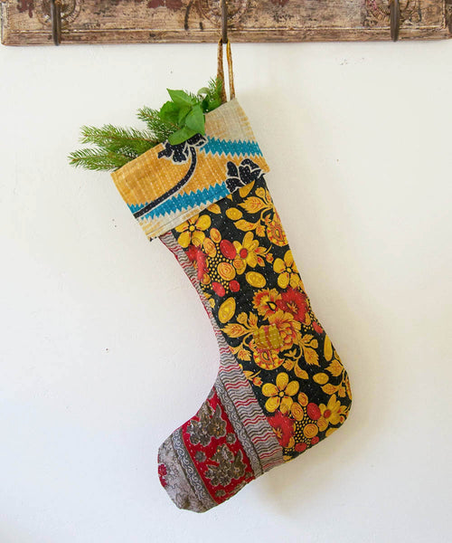 Kantha Stocking XII - Sister Golden