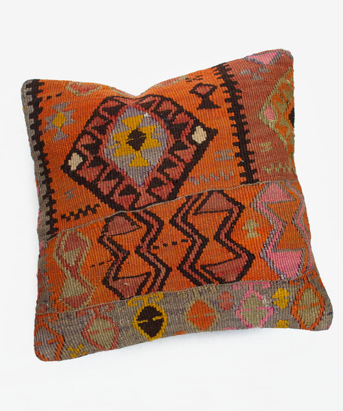 Citrus Flower Kilim Pillow