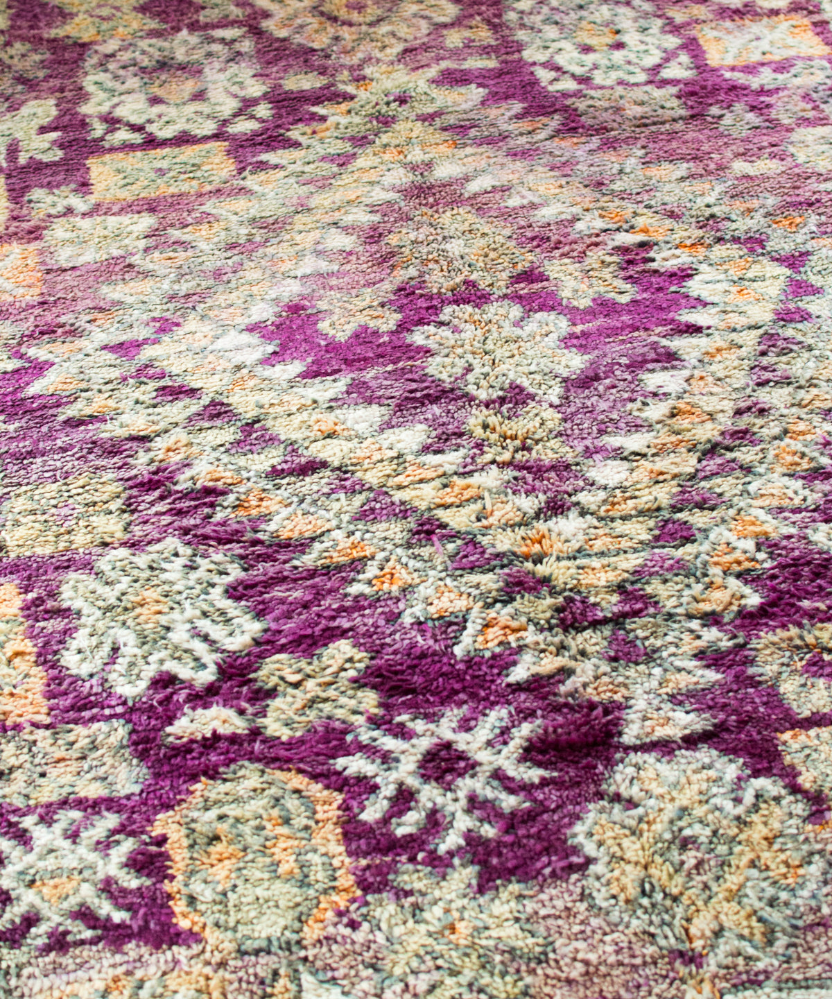 Jewel Box Vintage Moroccan Rug