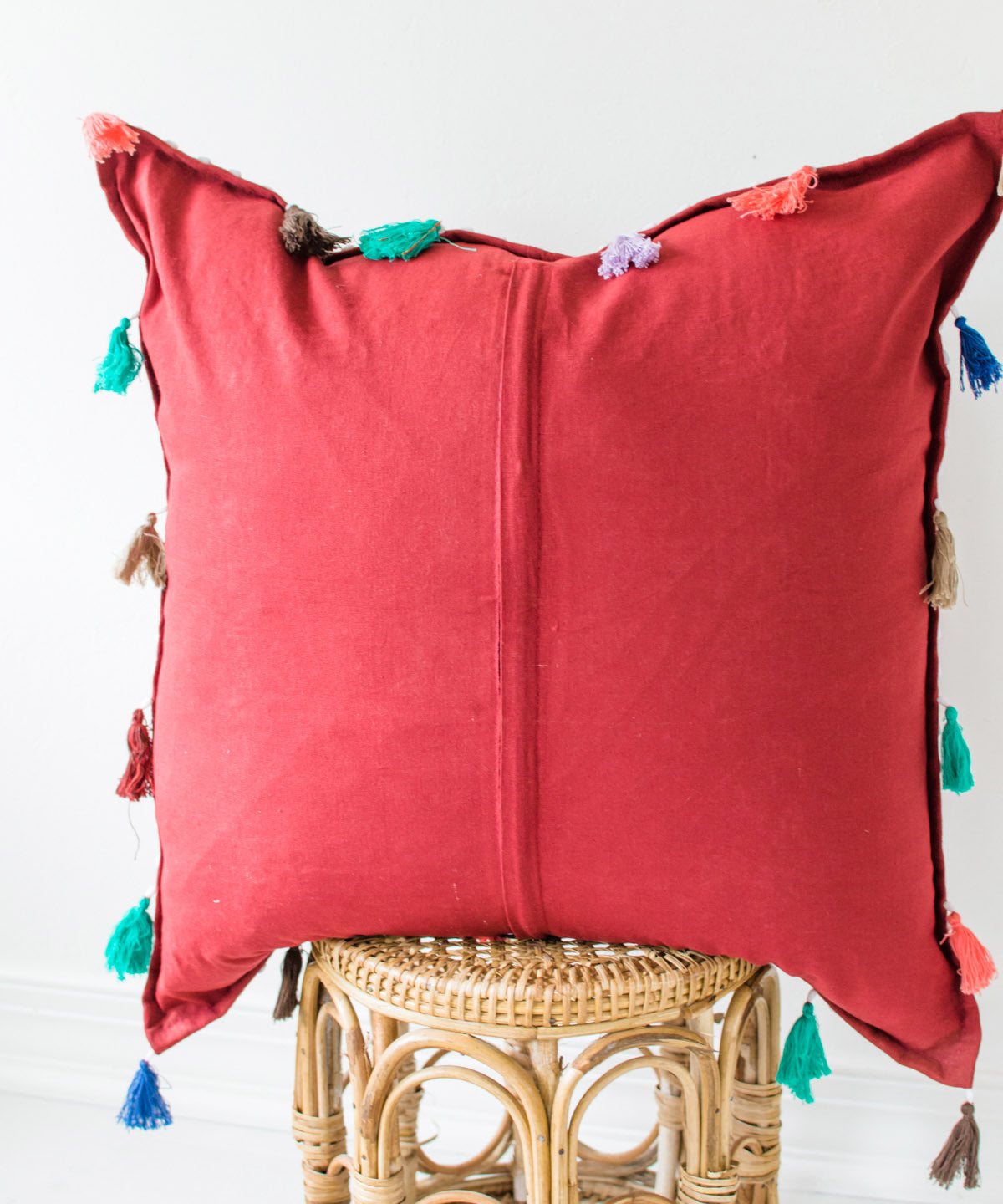 Indian Patchwork Pillow III
