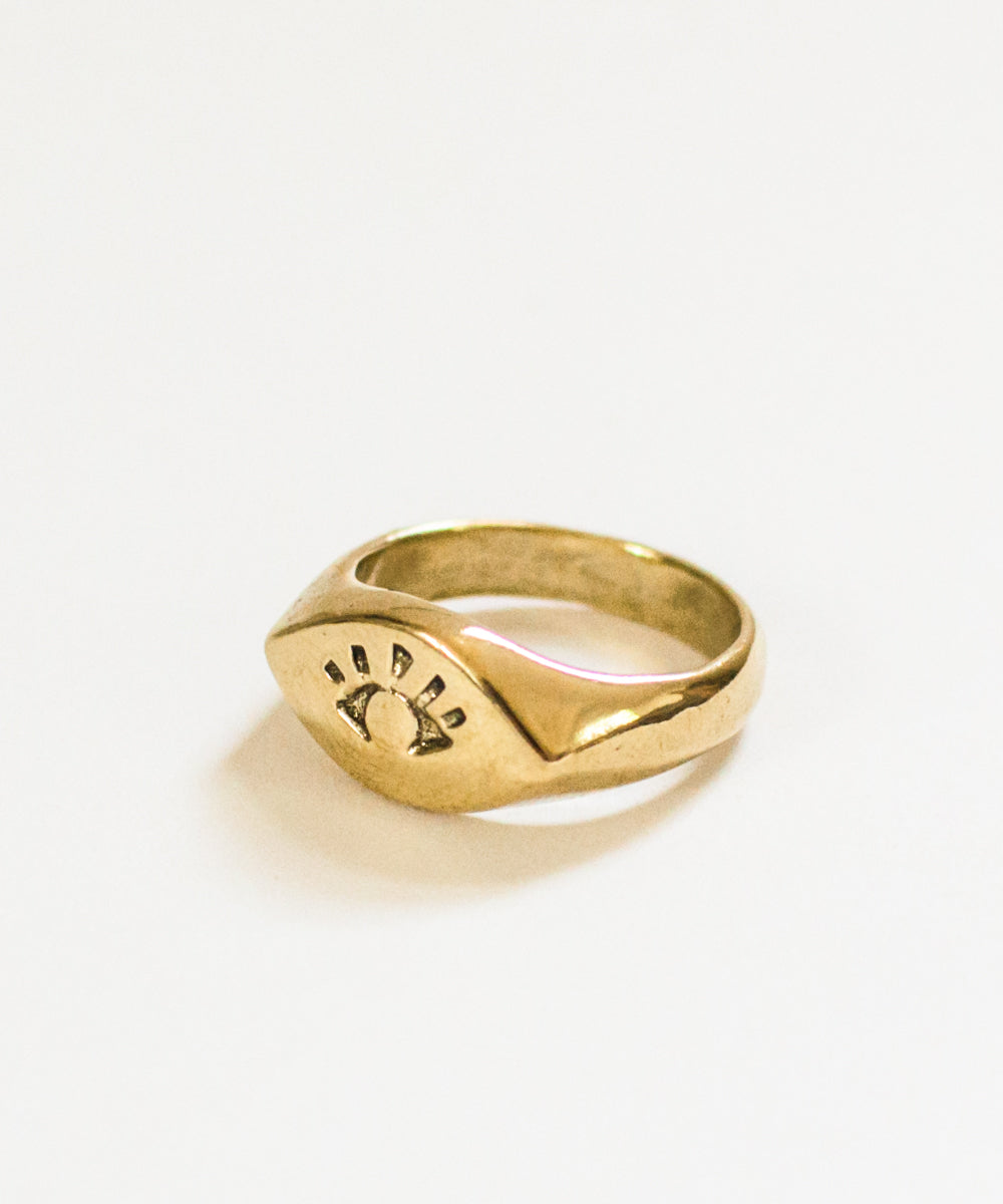 Ojo Signet Ring