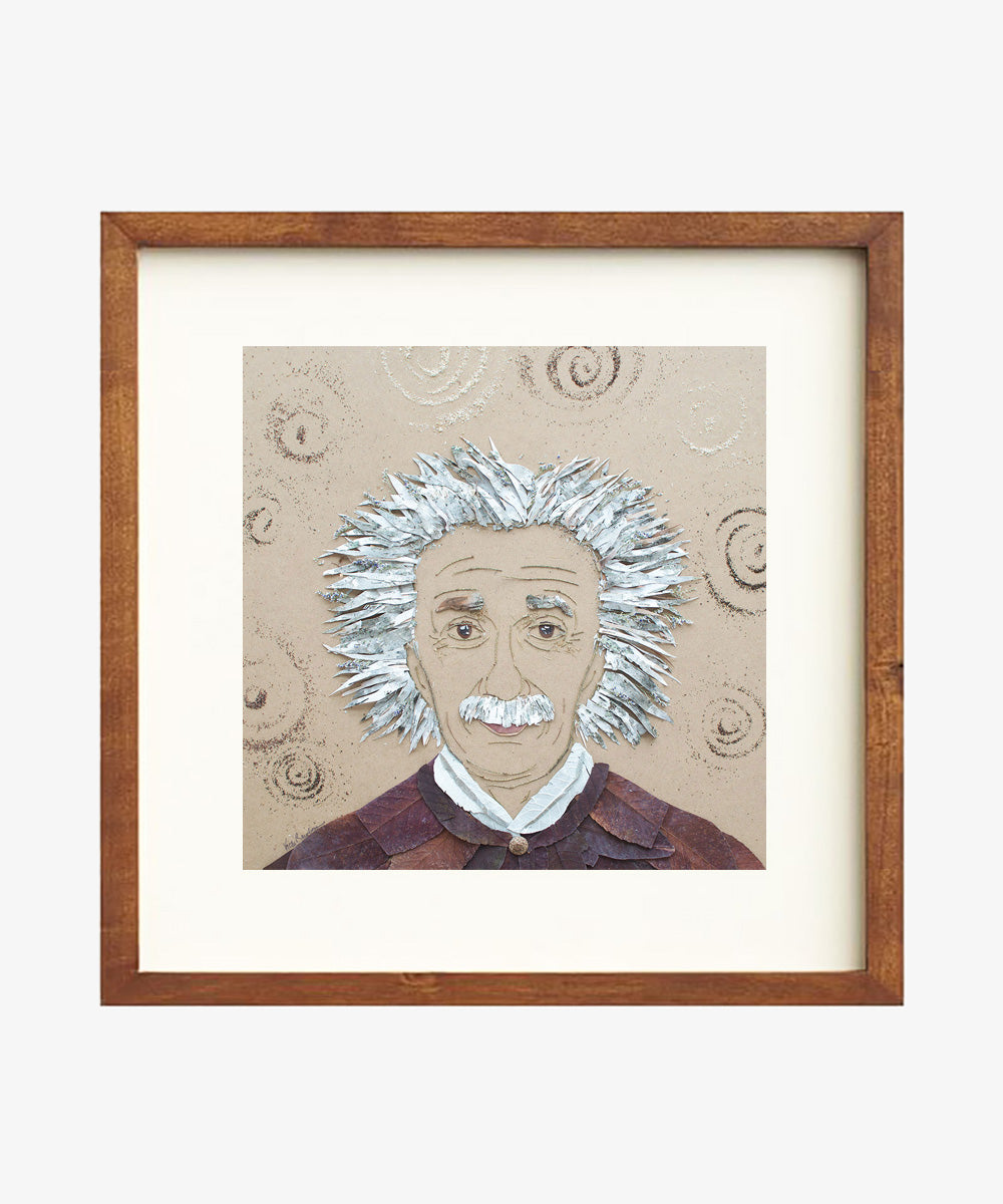 """Einstein"" Flower Print - Sister Golden"