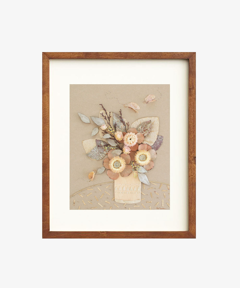 """Feeling Peachy"" Flower Print - Sister Golden"