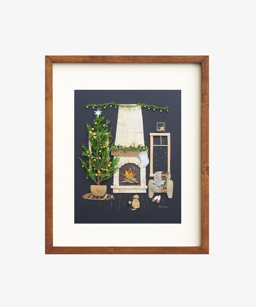 """Fireside Friends"" Flower Print - Sister Golden"