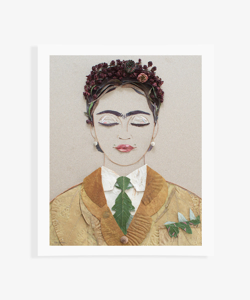 """The Future is Female"" Flower Print - Sister Golden"