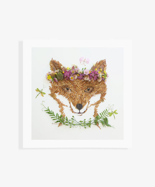 """Princess of the Forest"" Flower Print - Sister Golden"