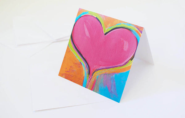 Heart IV Greeting Card