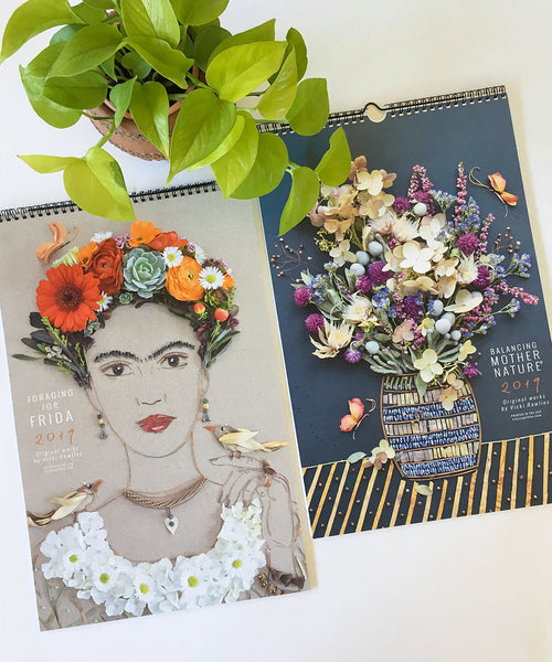 2019 Foraging for Frida Calendar