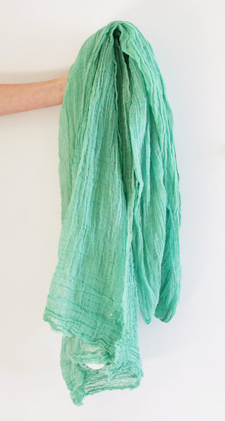 Hand Dyed Scarf (Multiple Colors)