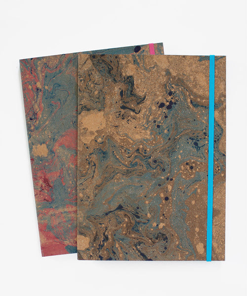 Marbleized Notebook