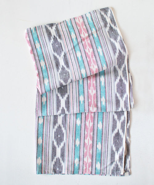 Pink Ikat Tea Towel