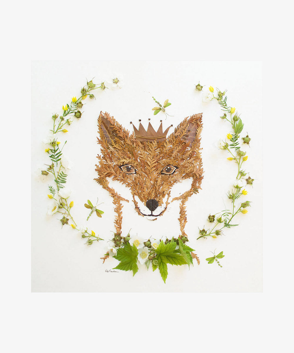 """Prince of the Forest"" Flower Print"