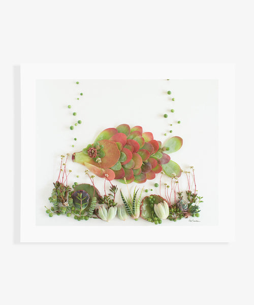 """Two Fish"" Flower Print - Sister Golden"