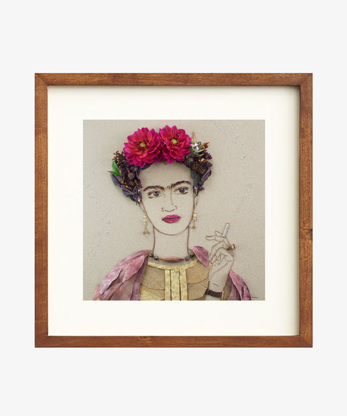 """Fierce Frida"" Flower Print"