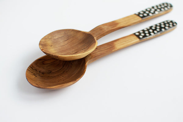 Spotted Olivewood Servers