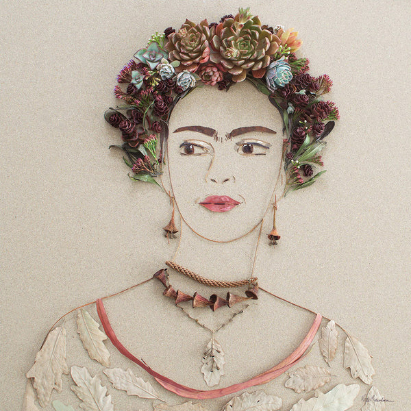 """Soul Frida"" Flower Print - Sister Golden"