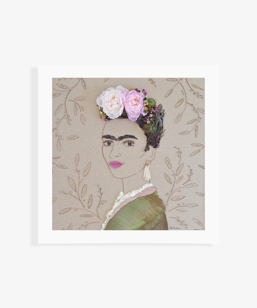 """Suprema Frida"" Flower Print"