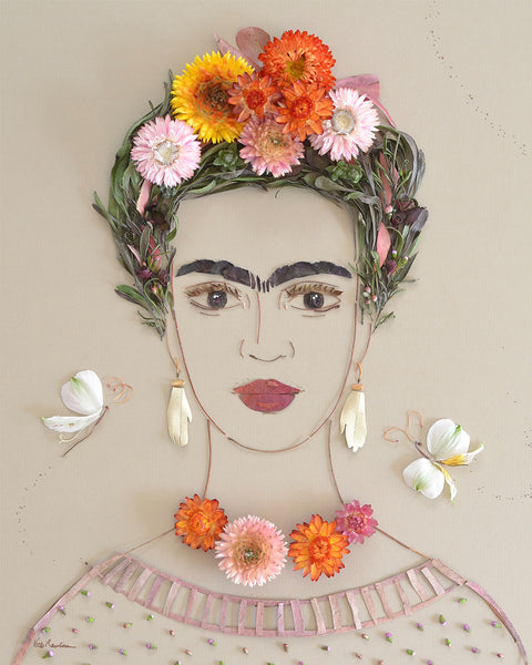 """Sweet Frida"" Flower Print"