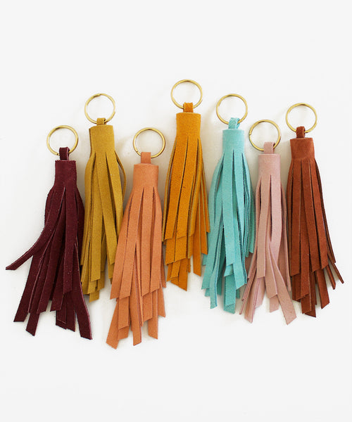 Suede Fringe Tassel (Multiple Colors)
