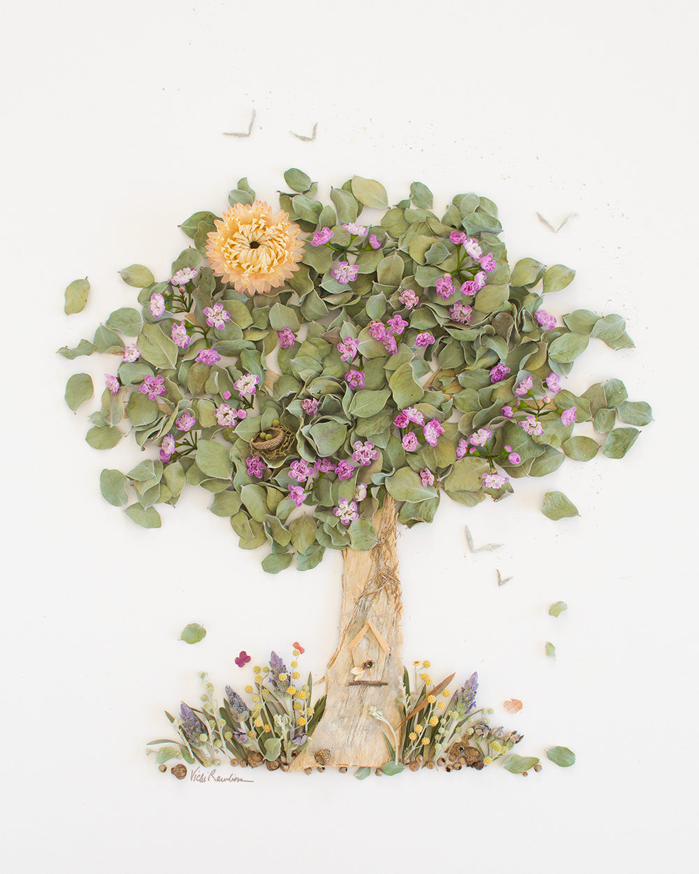 """The Giving Tree"" Flower Print"