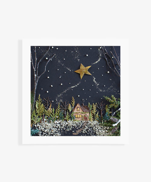 """Winter Wonderland"" Flower Print - Sister Golden"