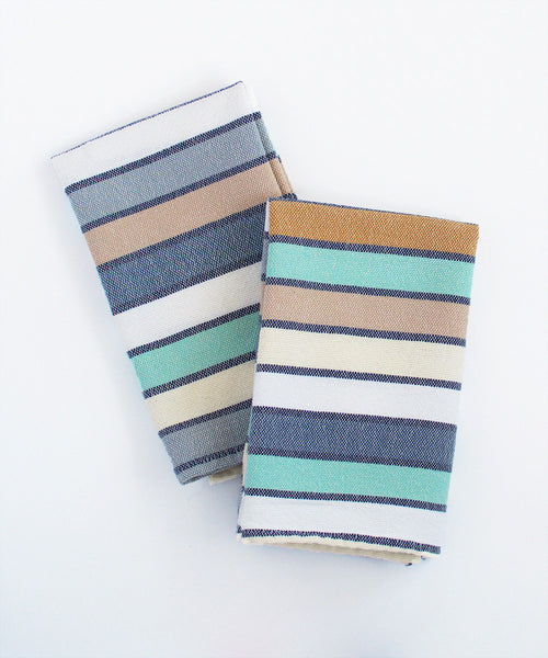 Lago Stripe Napkin Set