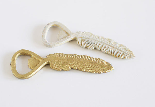 Feather Bottle Opener