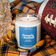 Flannels + Football Candle