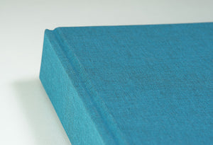 Beautiful Duck Egg Blue Cloth Photo Album
