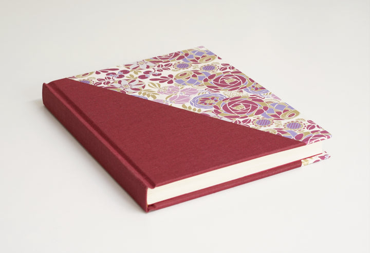 Purple Half Notebook Top