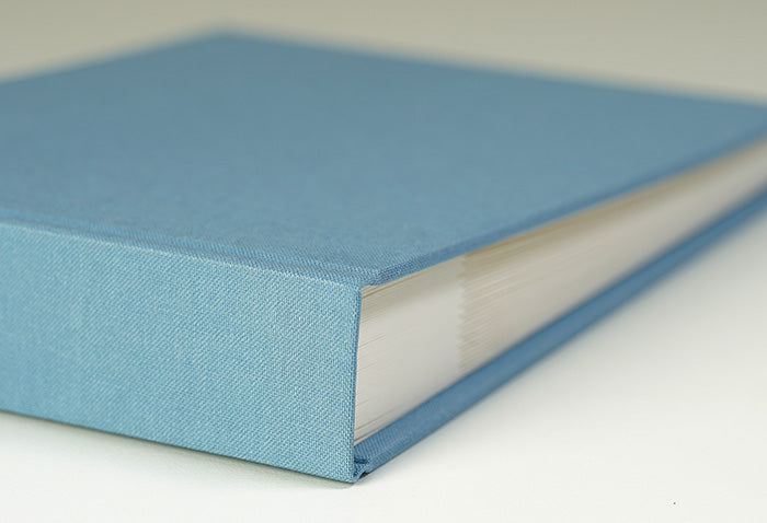 Beautiful Baby Blue Cloth Photo Album