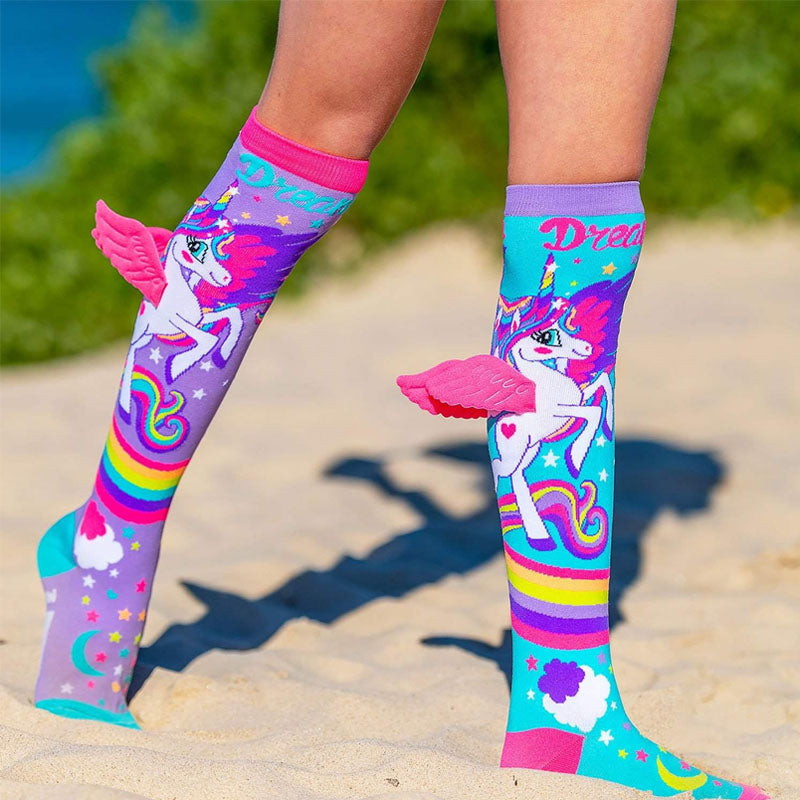 Cartoon Einhorn Socken