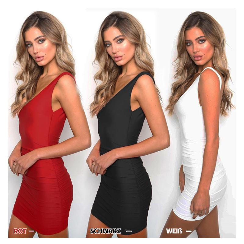 Sommer Party Kleid Damenmode Backless Sexy Spaghetti Strap Bodycon Kleider Elegante Rot Weiß Schwarz Strandkleid