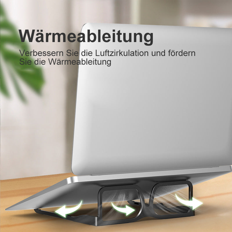 Brille- Design Laptophalter