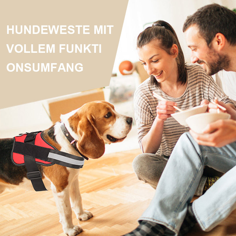 Hundeweste mit vollem Funktionsumfang