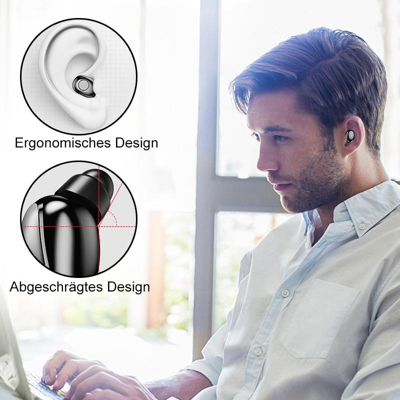 2-in1 Bluetooth-Headset & Externer Akku