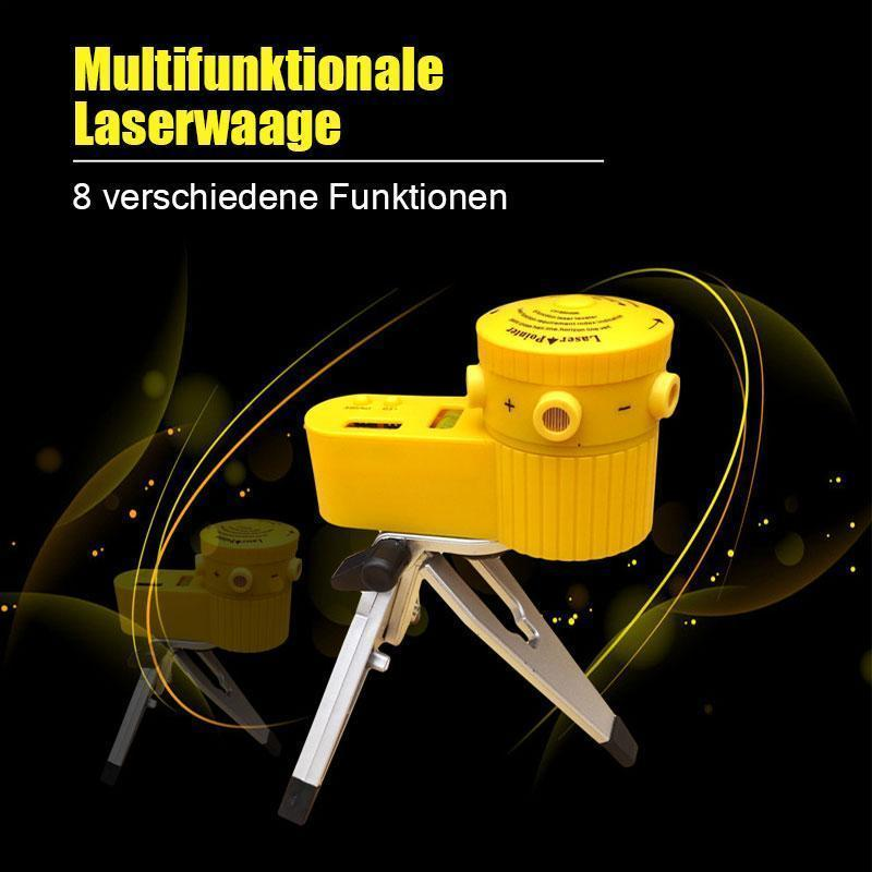 Multifunktionale Laserwaage