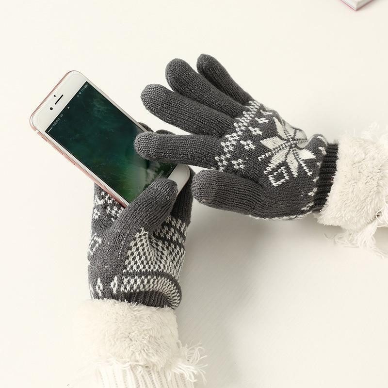 Damen Warme Winter Handschuhe
