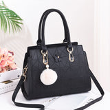 Bazaar Structured PU Handbag