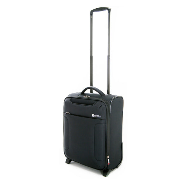 Tosca Black 52CM Cabin Approved 2-Wheel Trolley Case
