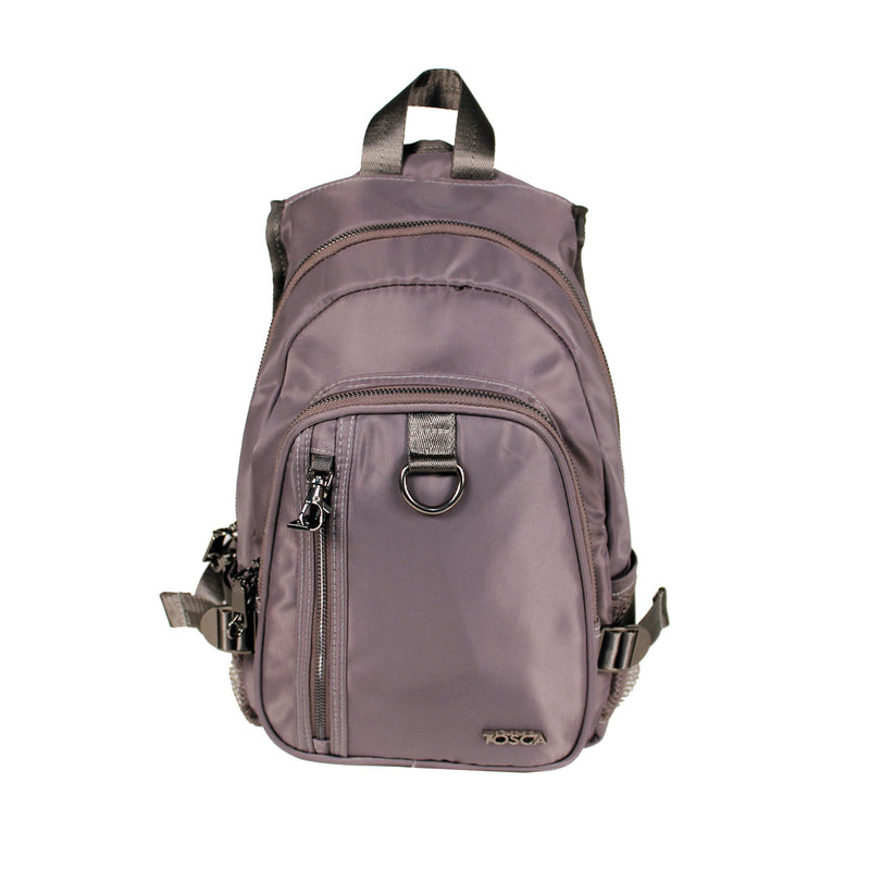 Tosca Black Anti-theft backpack