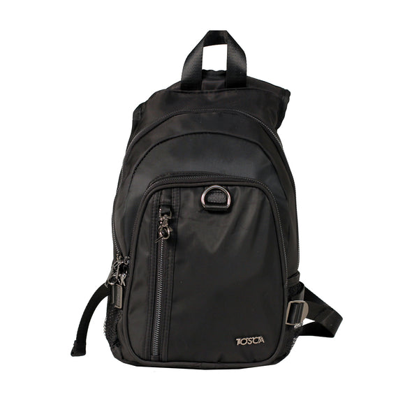 TCA903 Tosca Black Anti-theft backpack